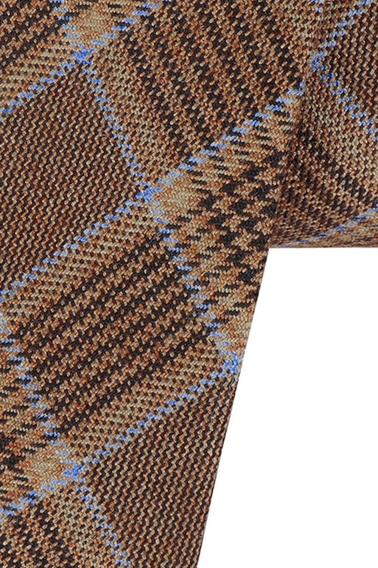 Cotton Plaid Tie