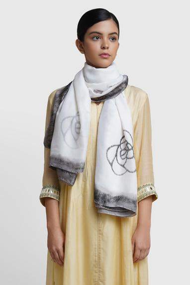 Silk Printed Stole