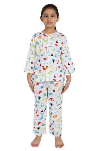 Printed Night Suit Set