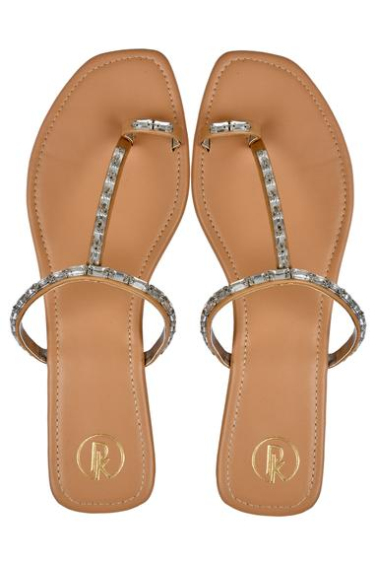 Stone Embellished Sandals