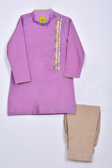 High-Neck Kurta Set