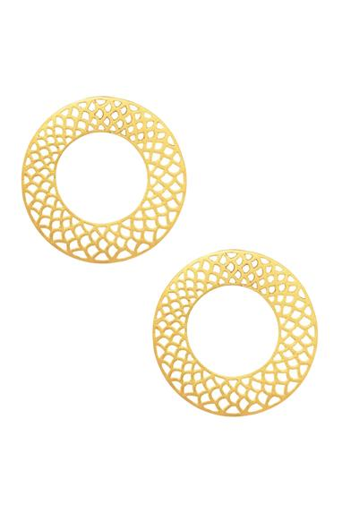 Cutwork Stud Earrings