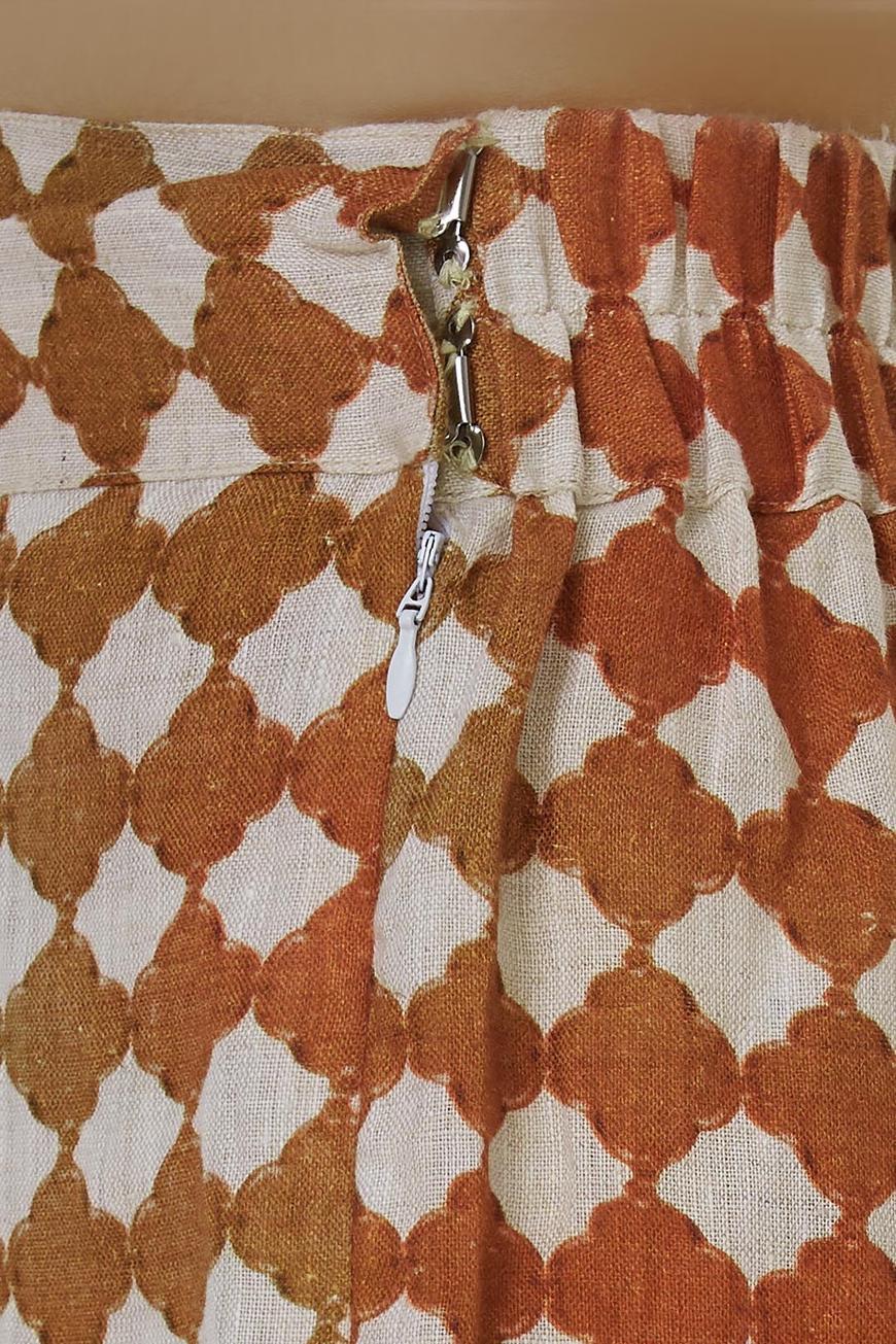 Linen Flared pants