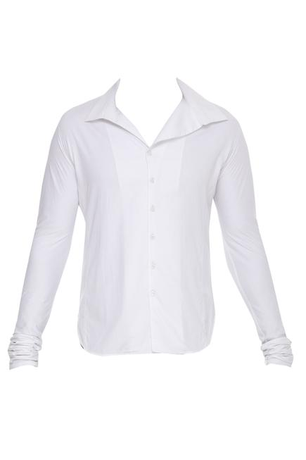 Classic White Collared Shirt