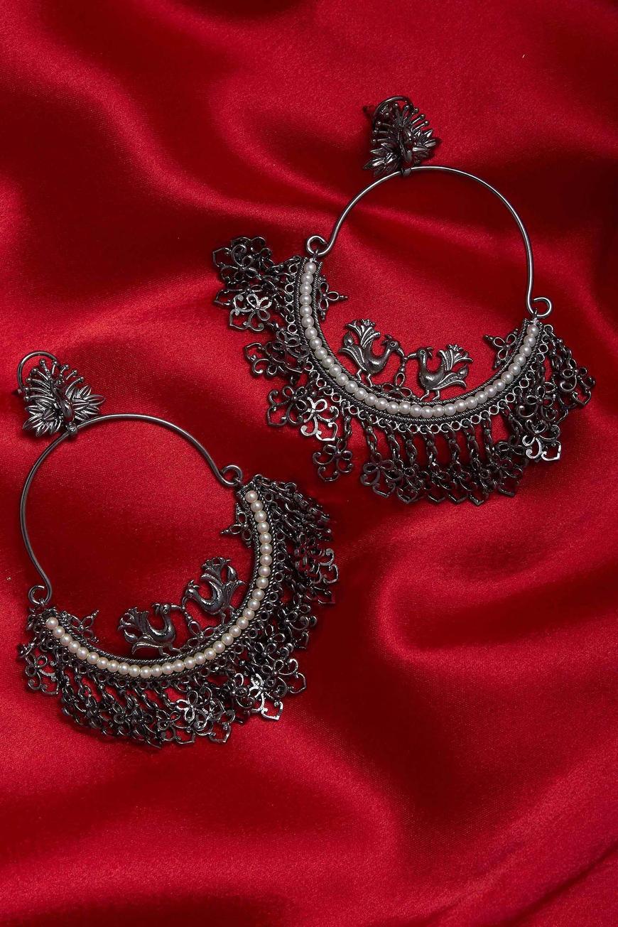 Hoop Dangler Earrings
