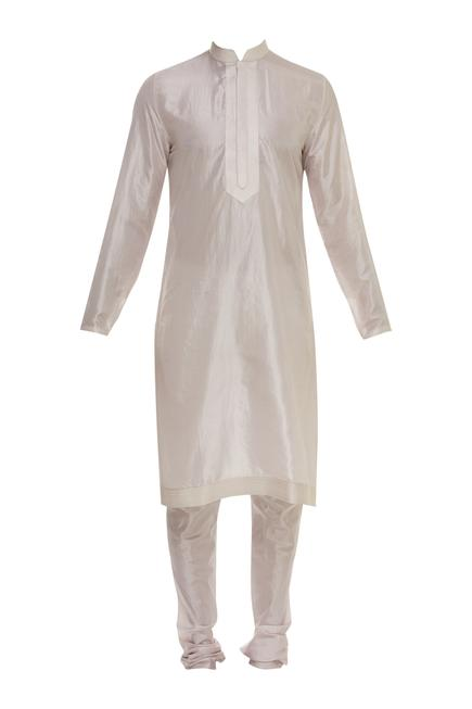 Floral Jaal Embroidered Sherwani Set
