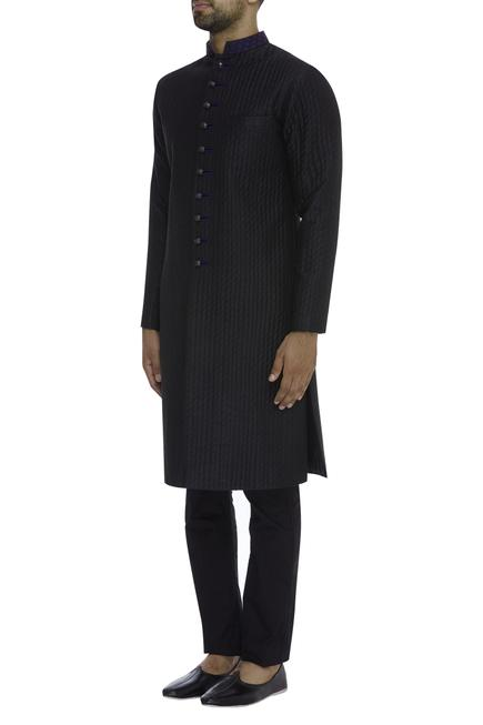 Quilted Button Down Kurta