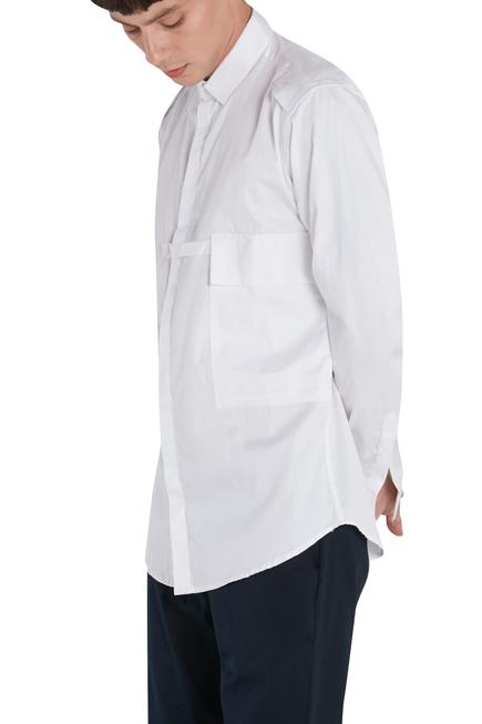 Shirt with front pocket
