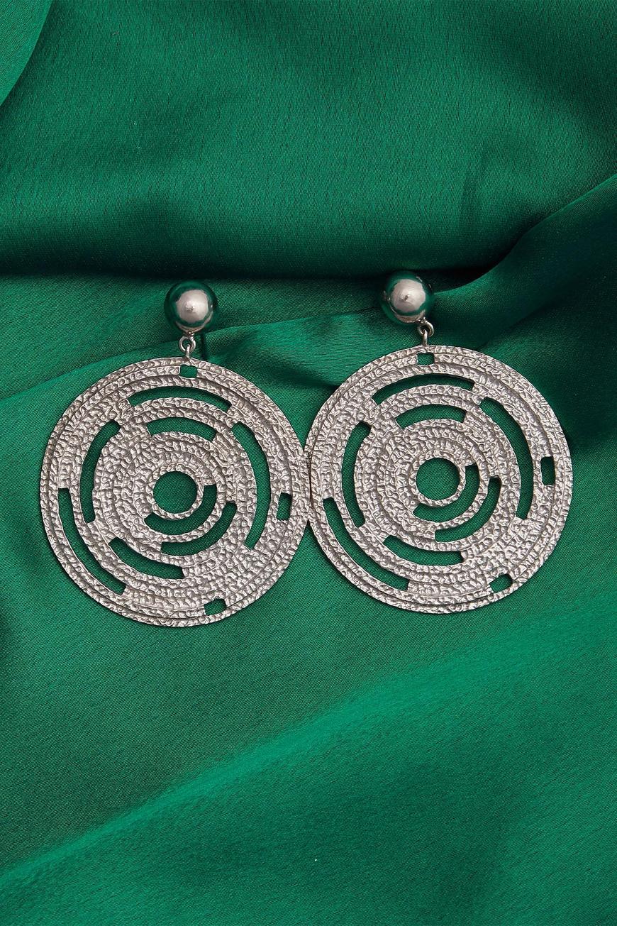 Circular Dangler Earrings