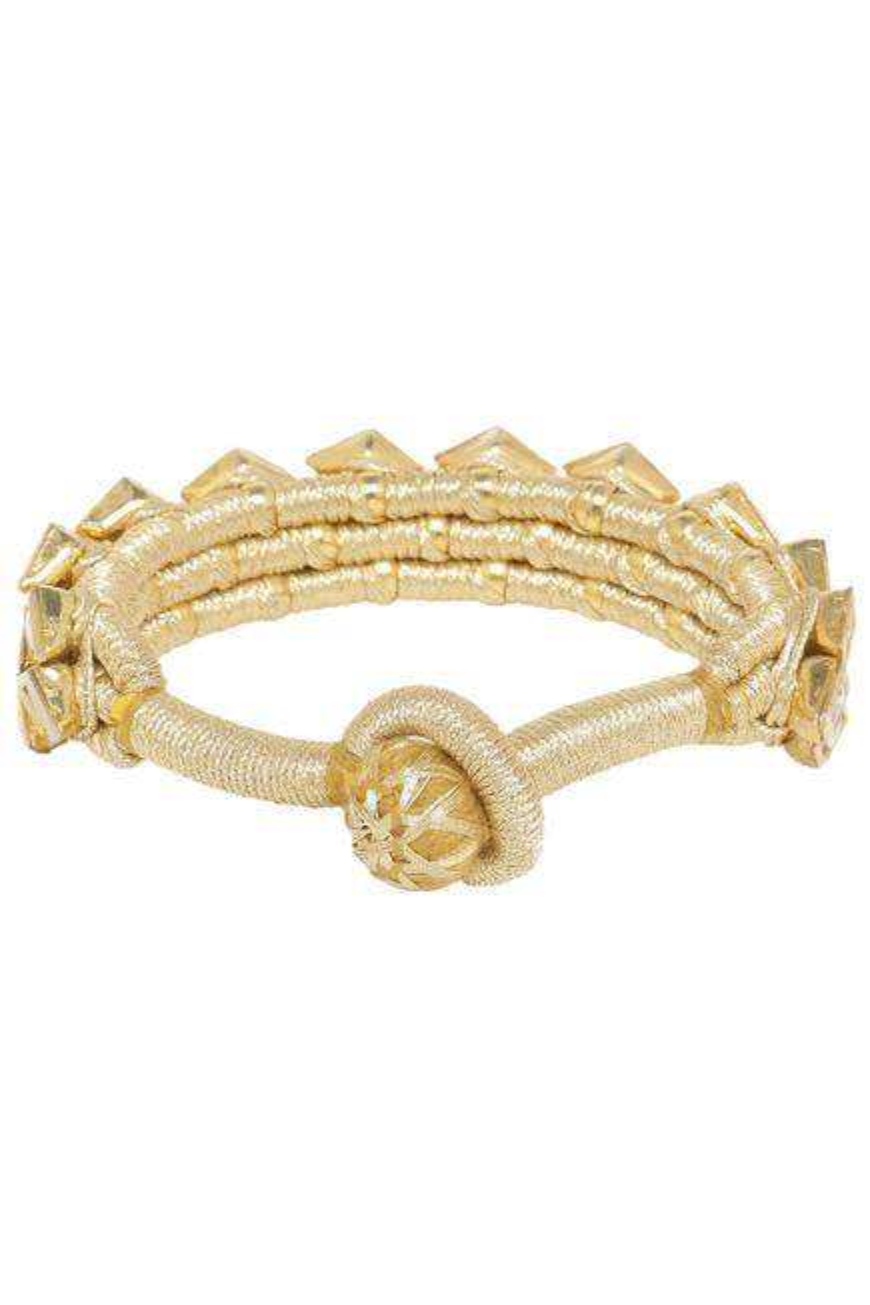 Geometric crystal bracelet