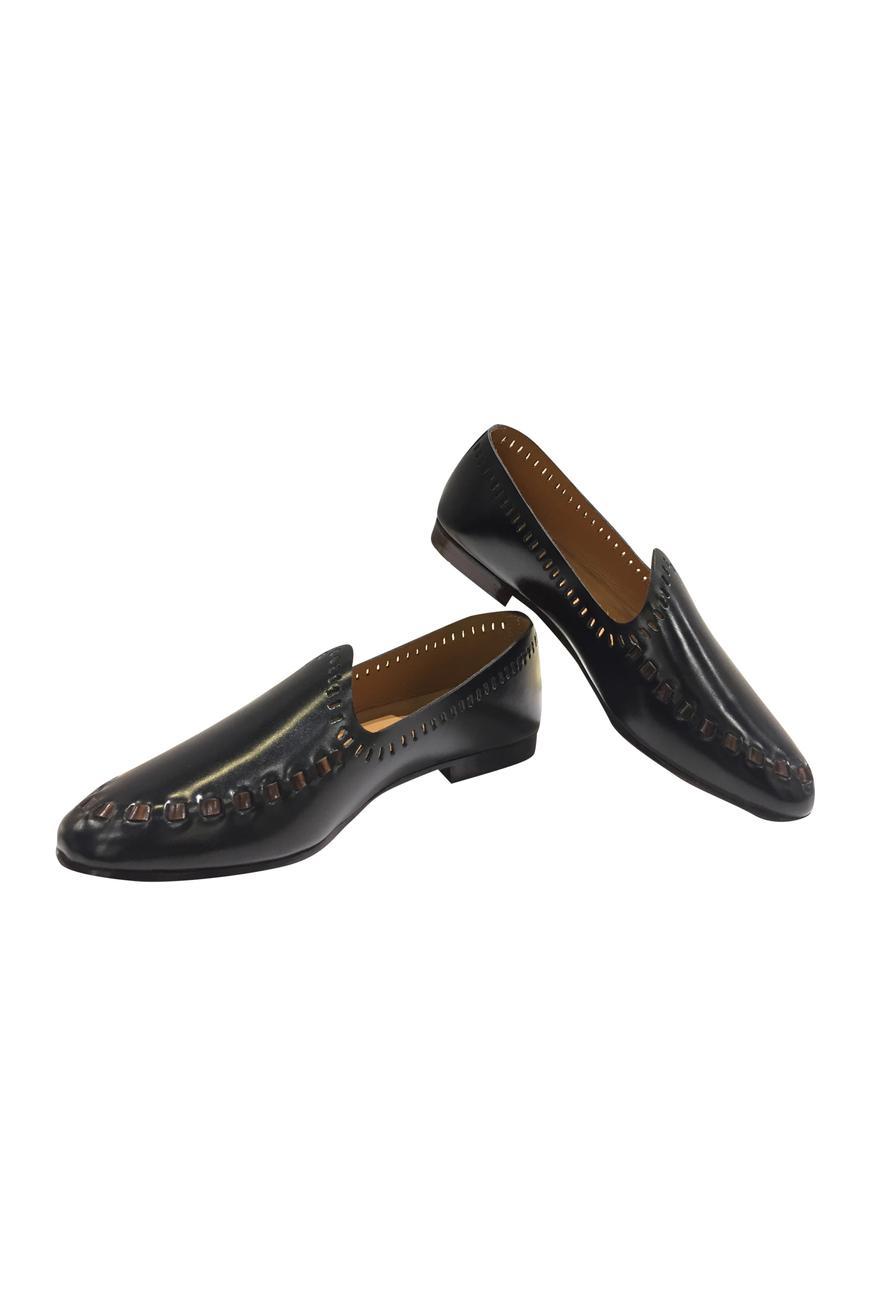 Cutwork loafers