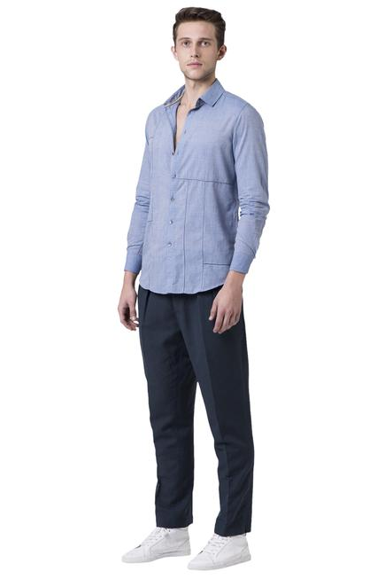 Full sleeves cotton mul shirt