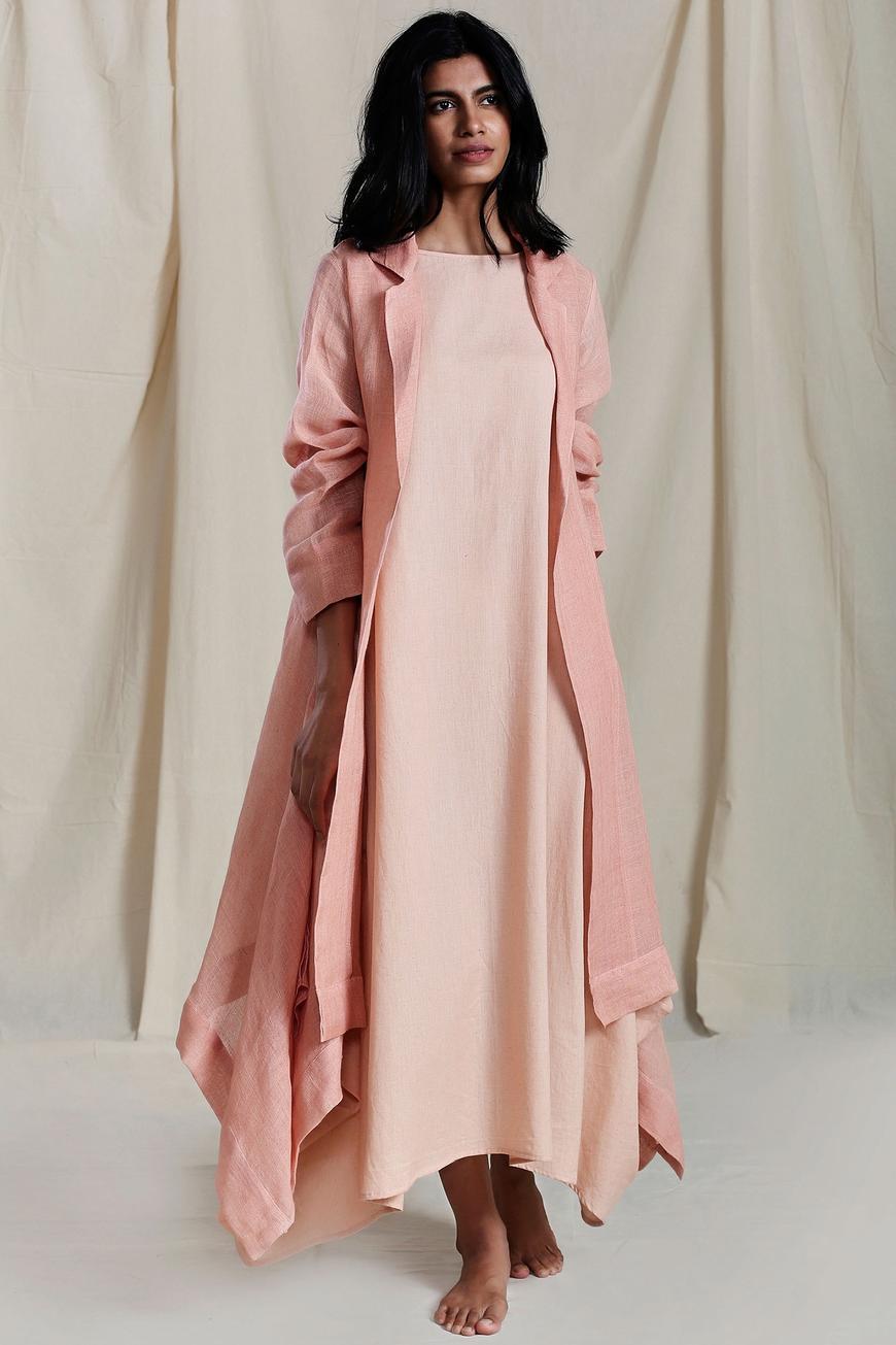 Linen Lapel Jacket