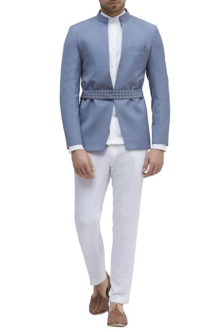 Front Open Bandhgala With Trouser