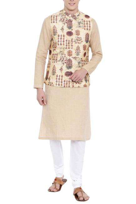 Chanderi Printed Bundi