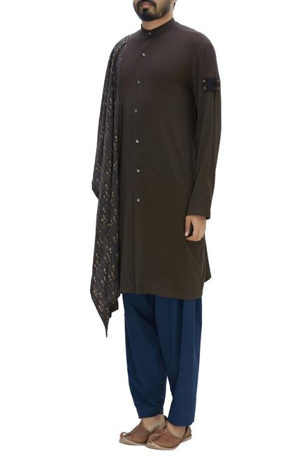 Handwoven organic cotton kurta