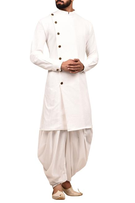 Embossed Sherwani Set