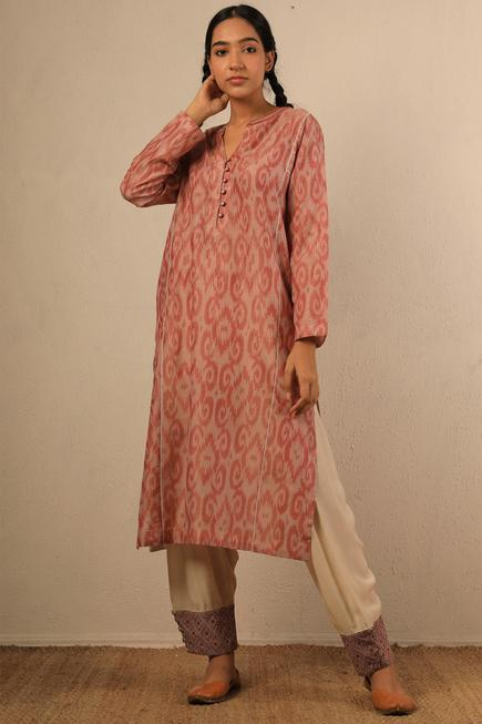 Embroidered Hem Salwar