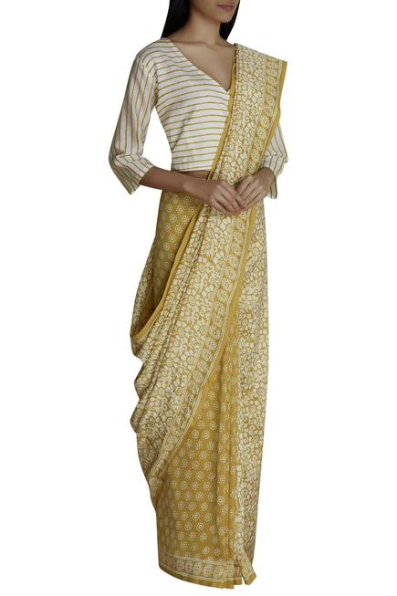 Chanderi Saree with Blouse
