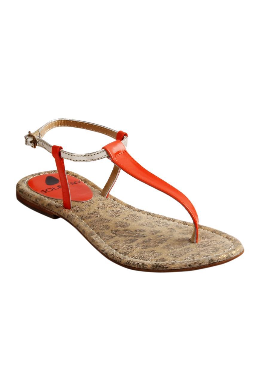 Textured Sling Back Sandals