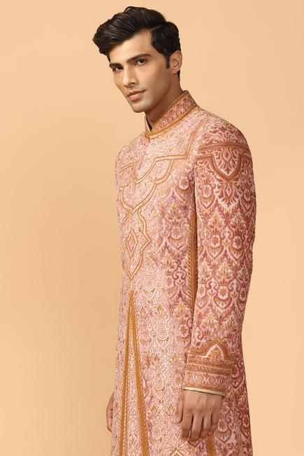 Embroidered Sherwani Kurta Set