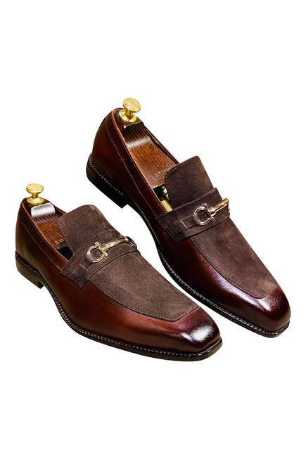 Panelled Loafers