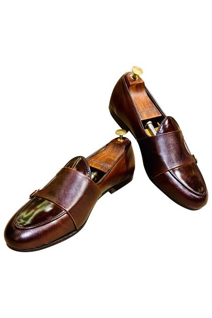 Double Strap Loafers