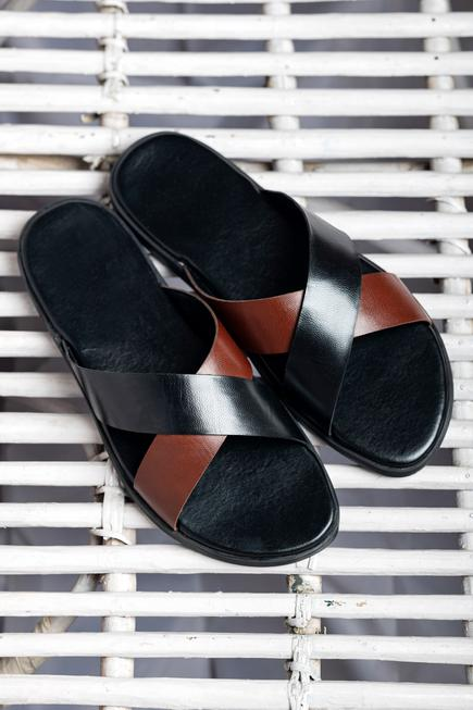 Handcrafted Cross Strap Sandals