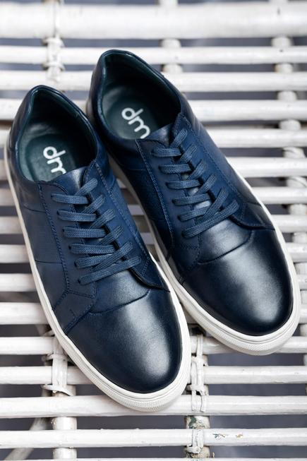 Handcrafted Leather Sneakers