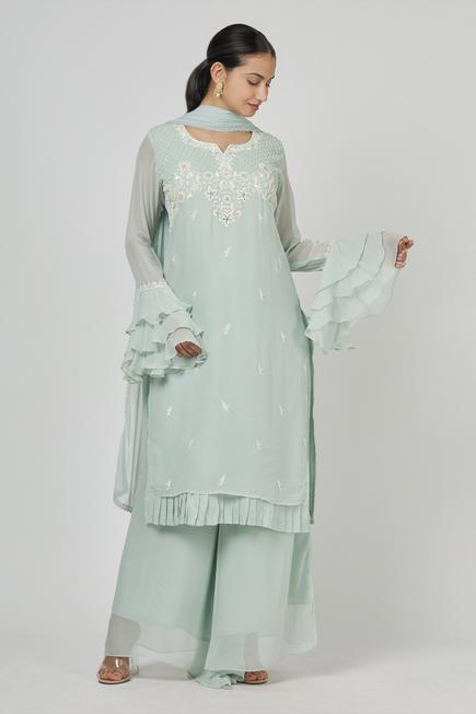 Embroidered Kurta Set