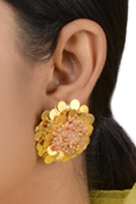 Bead Floral Studs