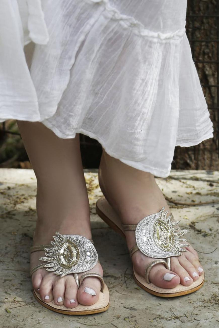 Alina Sun & Moon Sandals