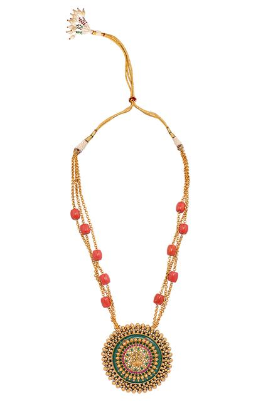 Kaivalya Pendant Necklace Set