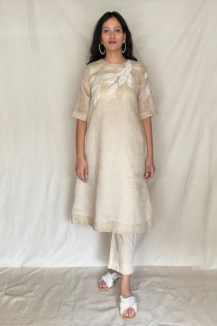 Embroidered Tunic with Pants