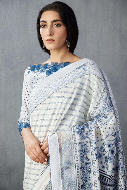 Handwoven Chanderi Saree