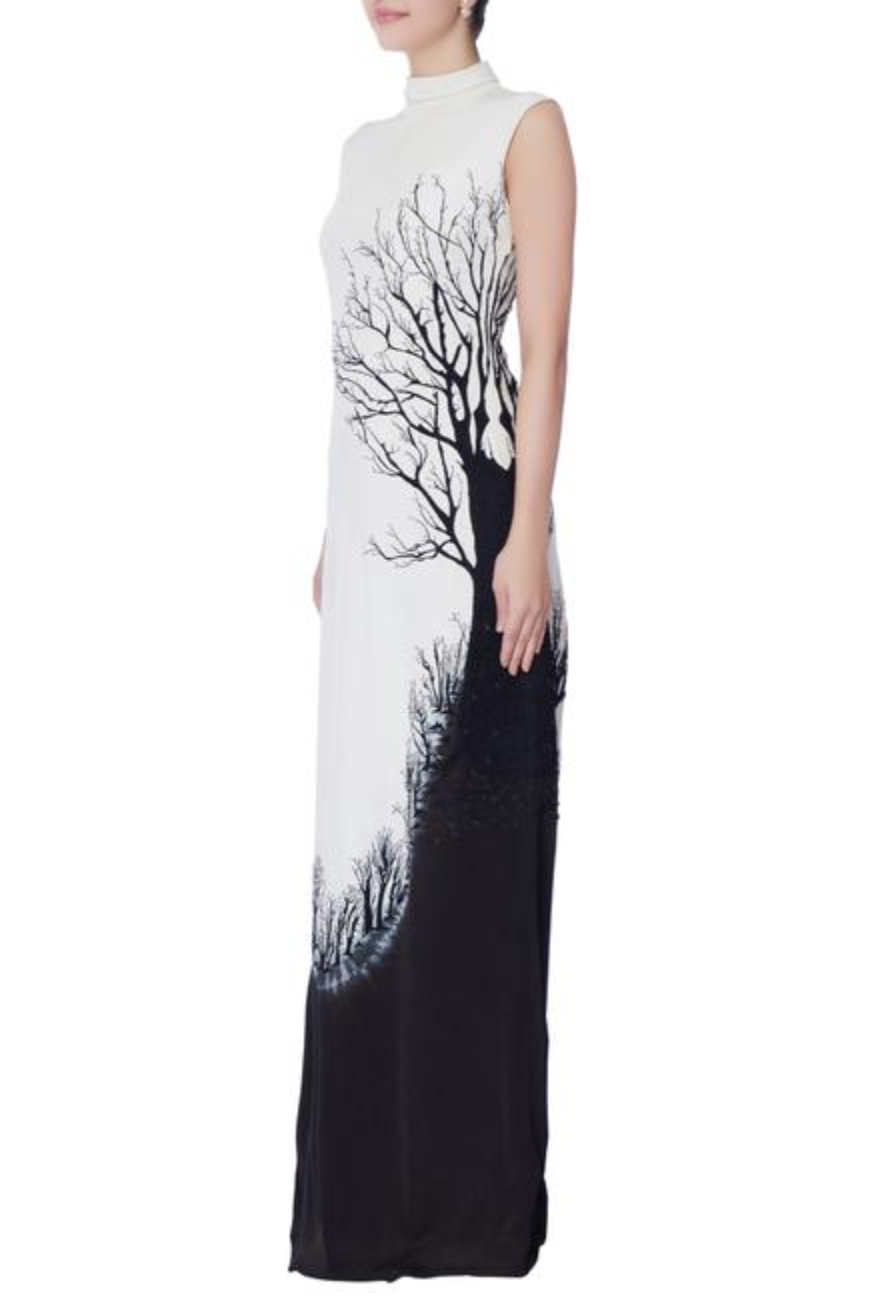 Turtleneck Gown