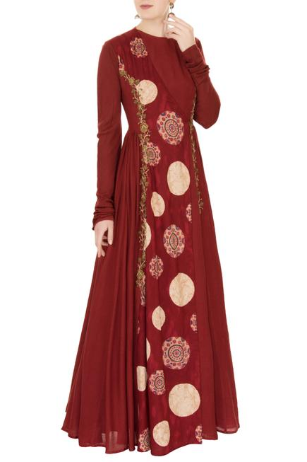 Embroidered Anarkali