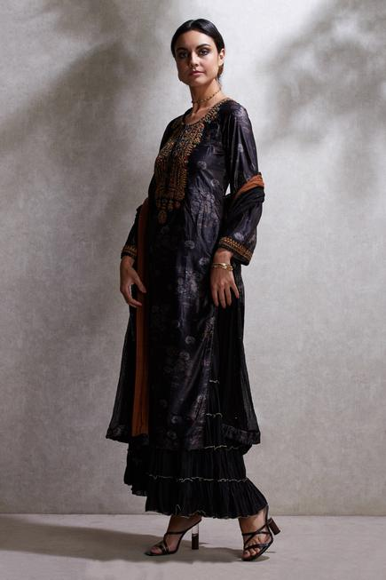 Printed Kurta Sharara Set