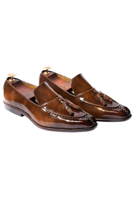 Handcrafted Flap Loafers