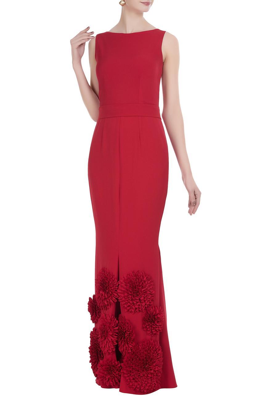 Embellished Sheath Gown
