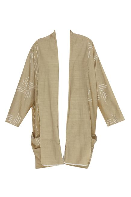 Matka silk midi jacket