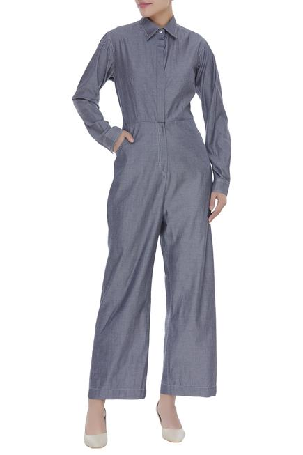 Collared Jumpsuit