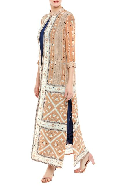 Dhoti Jumpsuit with Jacket