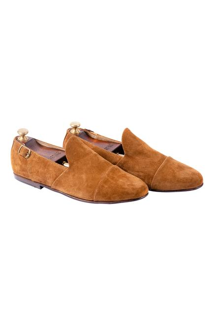 Handcrafted Suede Loafers