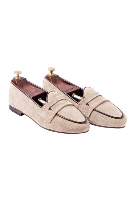 Penny Suede Loafers
