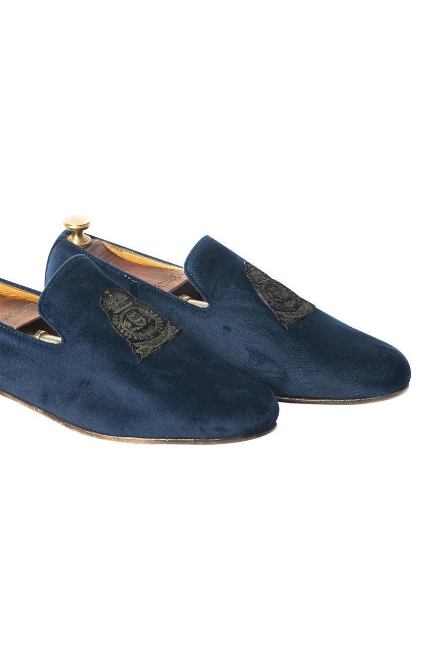 Handcrafted Velvet Loafers
