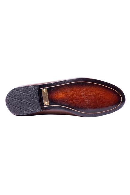 Handcrafted Crocodile Loafers
