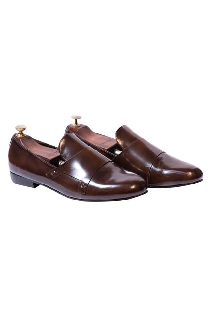 Handcrafted Monk Strap Loafers