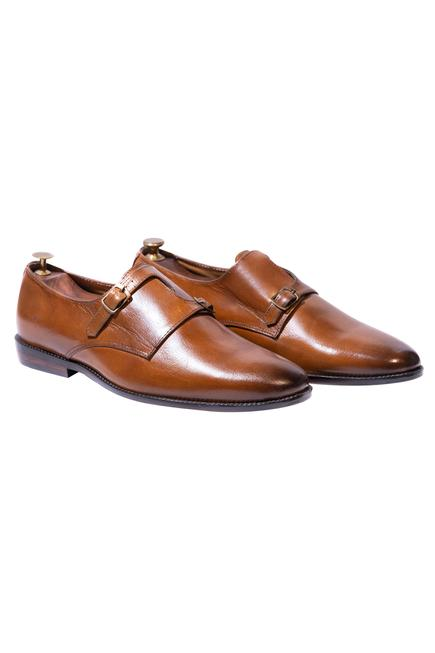 Handcrafted Monk Strap Shoes