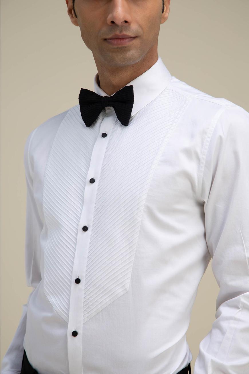 Pintuck Shirt